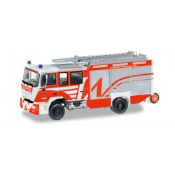 "* Herpa Trucks 092494  MAN M 2000 fire truck ""Wiesbaden fire department"""