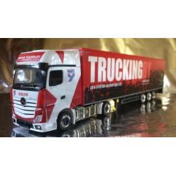 "* Herpa Trucks 306003  Mercedes-Benz Actros Gigaspace box semitrailer ""Brian Yeardley"" (GB)"