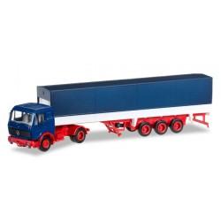 * Herpa Minikit Trucks 012782  Herpa MiniKit: Mercedes-Benz NG Planen-Sattelzug