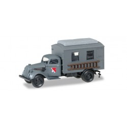 * Herpa Military 745635  Ford 997 T box truck main telecomuunication XXI. Armeekorps Wehrmacht