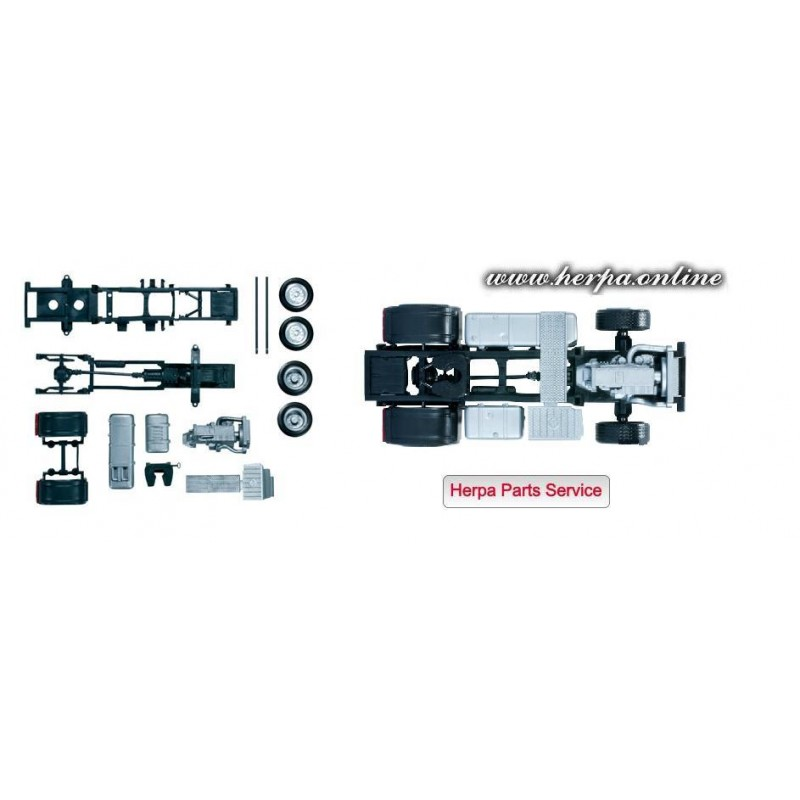 Herpa spare parts 083652 mercedes benz actros 2011 for Mercedes benz parts superstore
