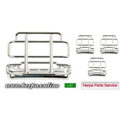 * Herpa Spare Parts 052467  Ram protection (with bumper) for Scania R - Pack of 4 pieces