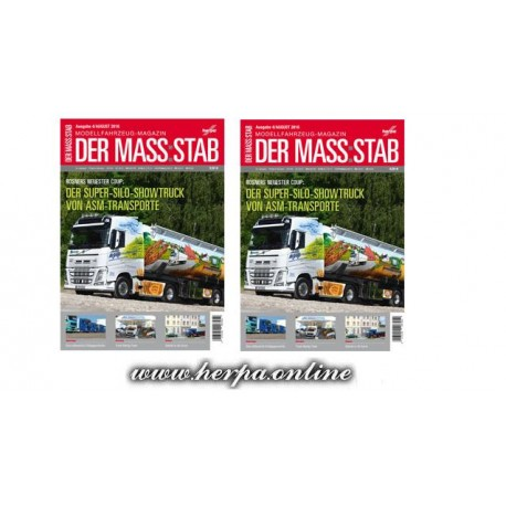 * Herpa 207454  DER MASS:STAB 4/2016 Herpa's car & truck magazine