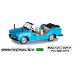 * Herpa Cars 024808-002  Trabant Kübel Model Car, sky blue