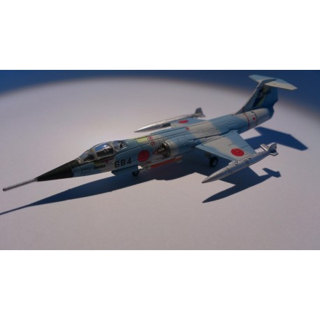 * Herpa Wings 552189  JASDF-202nd Hikotai, 5th Kokudan, Nyutabaru Air Base Lockheed F-104J Starfighter