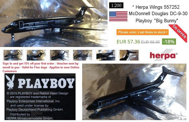 Herpa 557252 PlayBoy