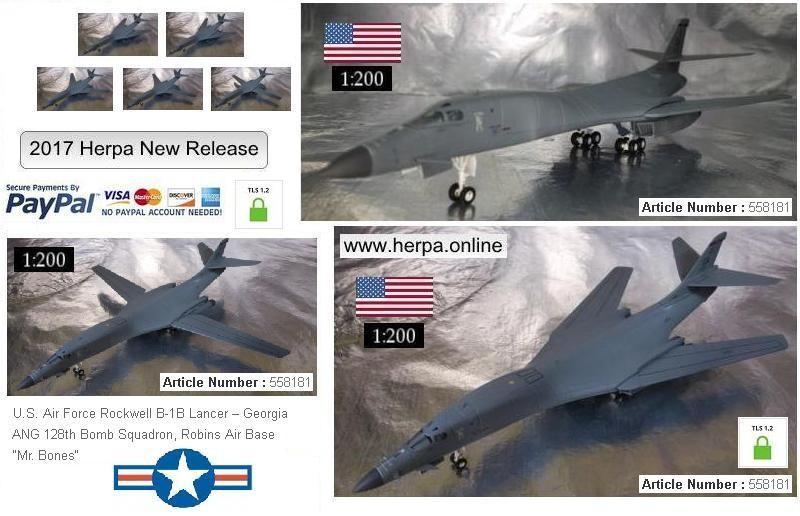 "U.S. Air Force Rockwell B-1B Lancer - Georgia ANG 128th Bomb Squadron, Robins Air Base - ""Mr. Bones"""