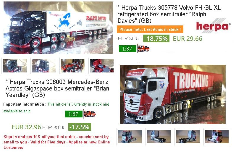 The best of 2 GB Trucks- Order yours today