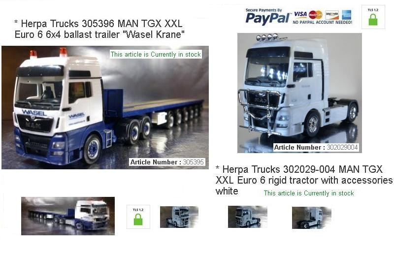A Selection of Models available from our Truck Department