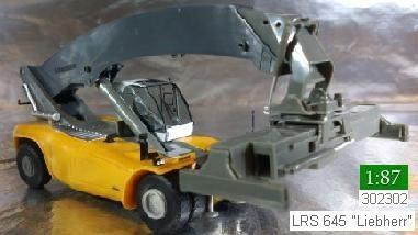"""Herpa 302302  Liebherr Reachstacker LRS 645 """"Liebherr"""""""